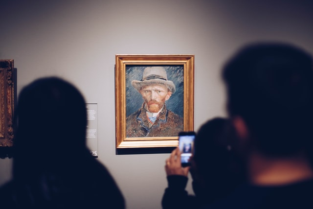 How does technology help your physical assets like art collections?