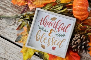 5 Things to be Grateful for this Thanksgiving